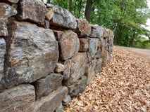 Stone Wall Stock Photography