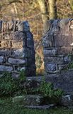 Stone wall stile, Lancashire Stock Photos