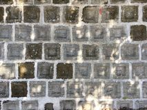 Stone wall. Texture Stock Images