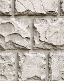Stone Wall. Wall from stones. Close-up view stock photo