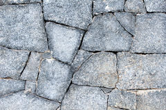Stone wall. A wall of stones handmade alocated Royalty Free Stock Photos