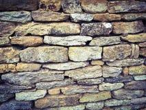 Stone wall. Stonewall church roman barricade security hard strong strength royalty free stock photos