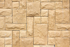 Stone wall strength. Suitable for building houses and buildings Royalty Free Stock Photos