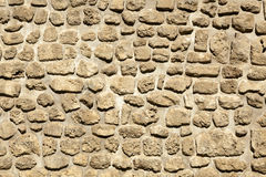 Stone Wall. In the sunlight Stock Images