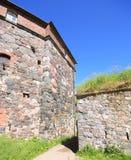 Stone Wall of Suomenlinna Royalty Free Stock Photo