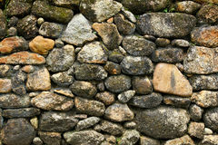 Stone wall surface Royalty Free Stock Photography