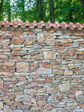 Stone wall surface Royalty Free Stock Photos
