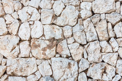 Stone wall surface Royalty Free Stock Image