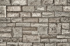 Stone Wall Texture. Ideal to use as background Stock Photography