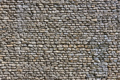 Stone Wall Texture. A stone wall texture background royalty free stock image