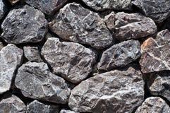 Stone wall texture. Rock or Stone wall texture closeup Royalty Free Stock Photo