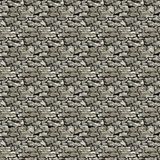 Stone Wall Texture. Seamless Limestone Dry Wall Pattern Royalty Free Stock Photos