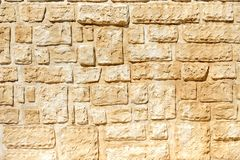 Stone wall texture Stock Images
