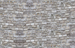 Stone wall texture. Texture of wall, made from rough stones Royalty Free Stock Image