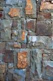 Stone Wall Texture. Gray Brown Stone Wall Texture Stock Photos