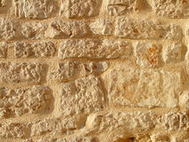 Stone wall texture. Ancient stone wall texture detail Stock Photo