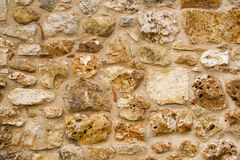 Stone wall -  texture Stock Photography