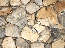 Stone wall for texture background abstract photo Royalty Free Stock Photo