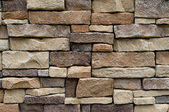 Stone wall texture. Background natural color Stock Images