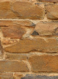 Stone wall texture background with text area Stock Image