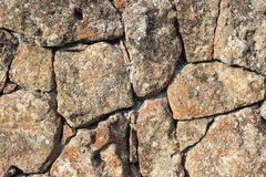 Stone wall texture background. Tuff wall background texture construction Stock Photo