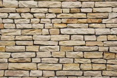 Stone wall texture. Bright stone wall texture background Stock Images