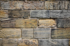 Stone wall texture. Bright stone wall texture background Royalty Free Stock Images