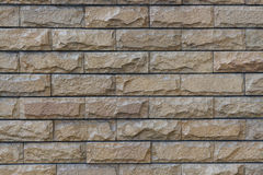 Stone wall texture. Texture of brown  stone wall Royalty Free Stock Image