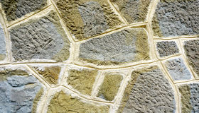 Stone wall texture close up horizontal Royalty Free Stock Photography