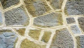 Stone wall texture close up horizontal Royalty Free Stock Photography