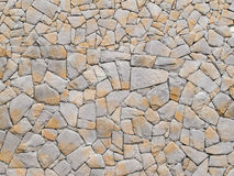 Stone wall texture. Combination of Stone wall texture Stock Image