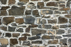Stone wall texture. For designers and 3d artists Royalty Free Stock Photos
