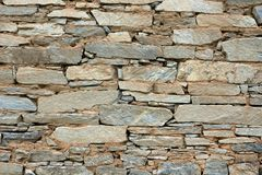 Stone wall texture. For designers and 3d artists Royalty Free Stock Image