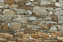 Stone wall texture. For designers and 3d artists Stock Photography