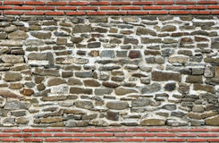 Stone wall texture. For designers and 3d artists Royalty Free Stock Photography