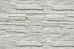 Stone wall texture detail. White wall Royalty Free Stock Image