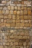 Stone wall texture detail Medieval castle. Royalty Free Stock Photography
