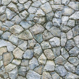 Stone wall Texture of different forms stones similar to wall Royalty Free Stock Image
