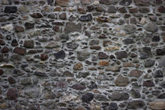 Stone wall texture. Texture of a wall made of stones Stock Photos