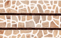 Stone wall texture, natural materials Stock Photography