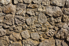 Stone wall texture  on the navodari beach Royalty Free Stock Image