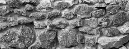 Stone wall texture. Old ancient detailed surface Stock Photo