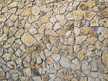 Stone wall texture. Old ancient detailed surface Royalty Free Stock Image