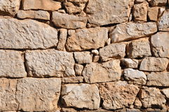 Stone wall texture. Old stone wall texture,east Serbia Royalty Free Stock Images