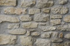 Stone wall texture. Old stone wall texture background Royalty Free Stock Photography
