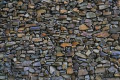 Stone wall texture. As nice natural background Royalty Free Stock Photos