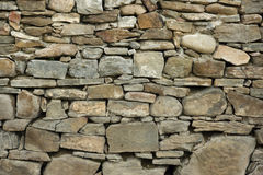 Stone wall texture. For designers and 3d artists Royalty Free Stock Photo