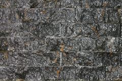 Stone Wall Texture. Ideal to use as background royalty free stock photos