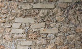 STONE WALL TEXTURE. STONES WALL TEXTURE OF AN OLD WALL Royalty Free Stock Image