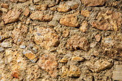 STONE WALL TEXTURE. STONES WALL TEXTURE OF AN OLD WALL Royalty Free Stock Photo